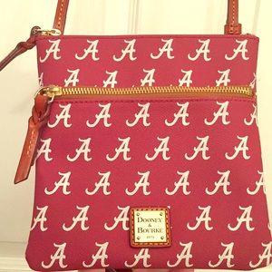 Dooney and Bourke Crossbody handbag Univ Alabama